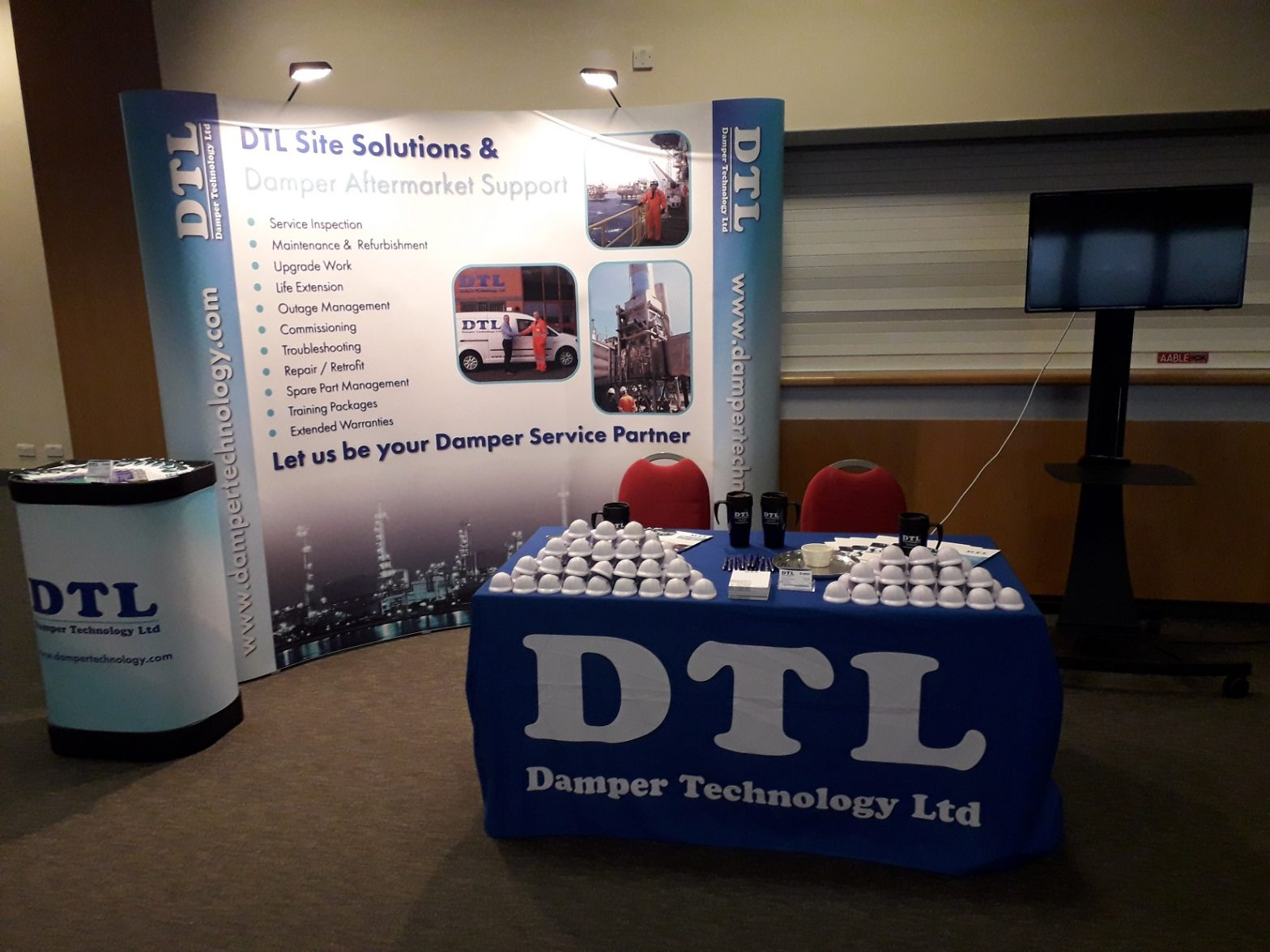 Exhibition Stand at Topsides 2018